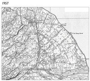 Le développement urbain : exemple à Saint-André en 1957