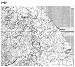 Le développement urbain : exemple à Saint-André en 1980